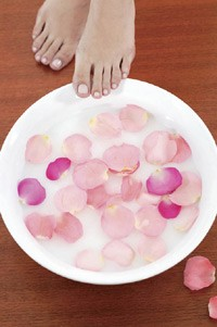 How to Give a Home Pedicure