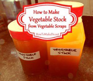jars of vegetable stock