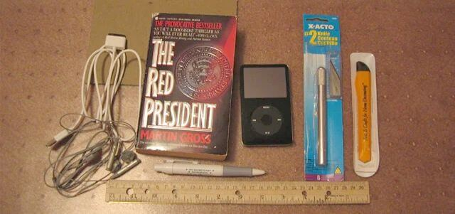recycled book ipod case