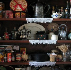 old-fashioned pantry