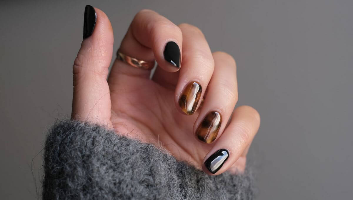 beautifully polished nails