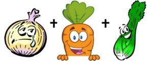 onion carrot celery