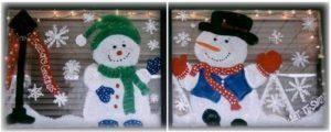 paint winter windows