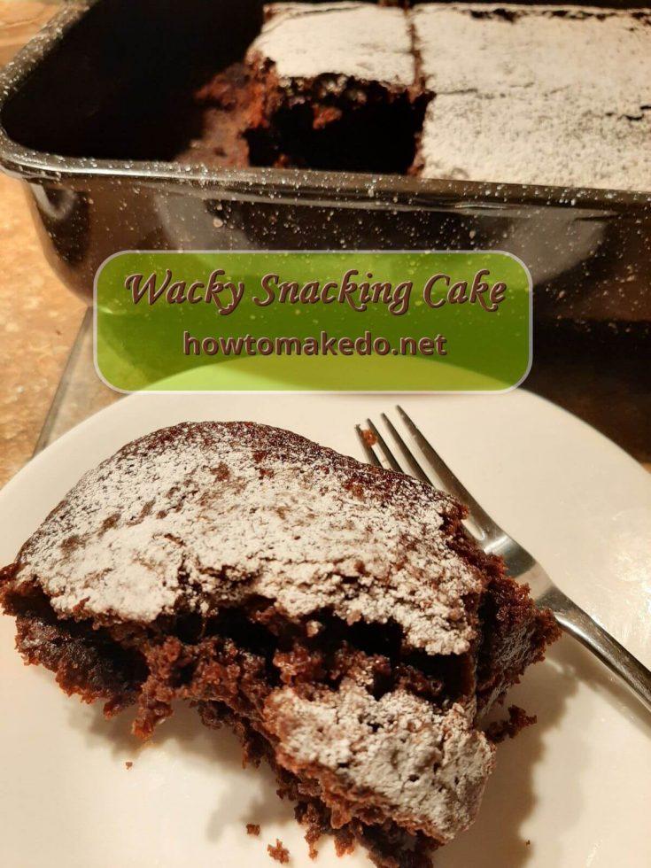 Wacky Snacking Cake